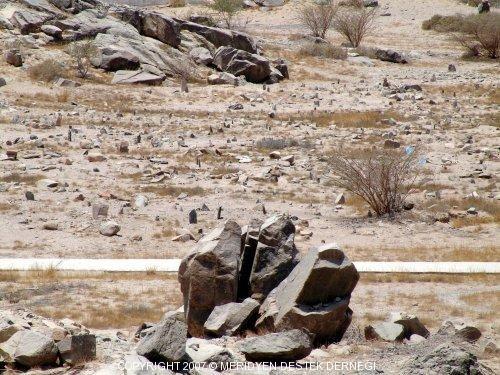 Der Friedhof der Märtyrer von Badr